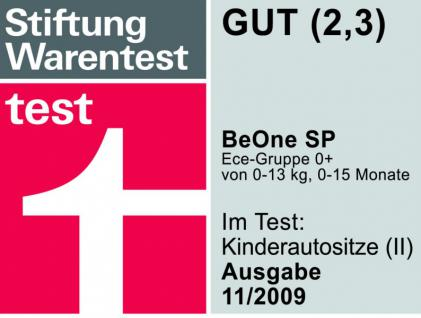 "Osann ""Ferrari"" Sitz Babyschale BeOne SP Baby Kindersitz Autositz Auto KFZ 0+ - Vorschau 4"