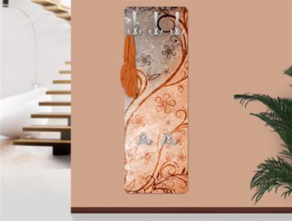 "Design Wandgarderobe ""Dignity"" Print Garderobe Möbel Diele Flur Haken Neu"