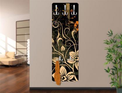 Design Wandgarderobe Print Garderobe Möbel Dielenmöbel Diele Flur Haken Neu - Vorschau 1