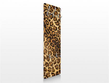Design Wandgarderobe Jaguar Druck Print Garderobe Möbel Diele Flur Haken Neu - Vorschau 2