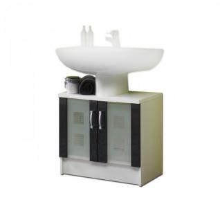 5416 Badezimmer Waschbeckenunterschrank Bad-Möbel Hochglanz in versch. Farben