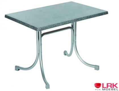 Acamp Tisch Gartentisch Gartenmöbel Möbel Garten Klappbar 110x70 cm in 3 Farben - Vorschau 1