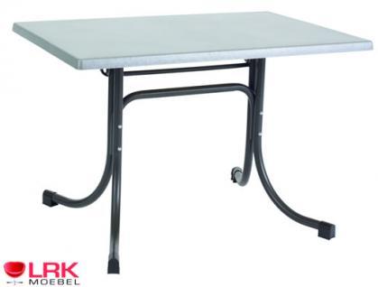 Acamp Tisch Gartentisch Gartenmöbel Möbel Garten Klappbar 110x70 cm in 3 Farben - Vorschau 2