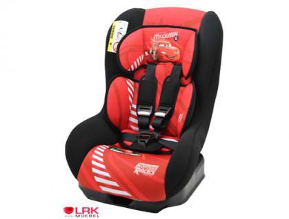 "Osann Safety Plus NT ""McQueen"" Disney Baby Kindersitz Autositz Auto KFZ 0-18 KG"