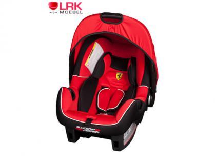 """Osann """"Ferrari"""" Sitz Babyschale BeOne SP Baby Kindersitz Autositz Auto KFZ 0+"""