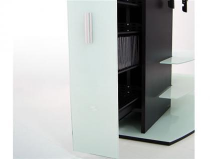 """""""Almeria"""" LCD TV Hifi Standkonsole Standfuß Rack Tisch Trägersystem 4 Farben - Vorschau 4"""