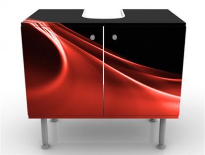 Waschbeckenunterschrank Schrank Bad Badmöbel Möbel Waschtisch Premium Print - Vorschau 2