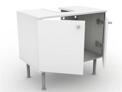 Waschbeckenunterschrank Schrank Bad Badmöbel Möbel Waschtisch Premium Print - Vorschau 3