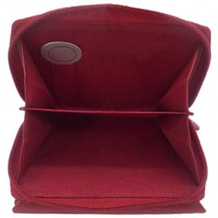 Friedrich Lederwaren Geldbörse MANDALA Leder rot RFID Schutz viele Fächer - Vorschau 3