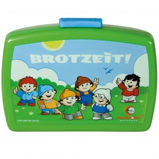 MAINZELMÄNNCHEN Frühstücks-Set für Kinder Kindergeschirr Trinkflasche Brotdose - Vorschau 3