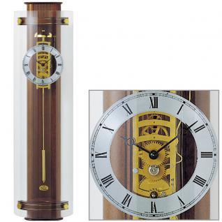 AMS 633/1 Regulateur Regulator mit Pendel Holz nussbaum farben Pendeluhr