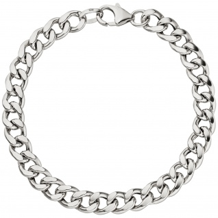 Panzerarmband Armband 925 Sterling Silber 21 cm Silberarmband Karabiner - Vorschau 2