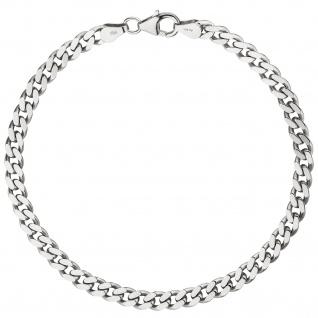 Panzerarmband 925 Sterling Silber 21 cm Armband Silberarmband - Vorschau 4