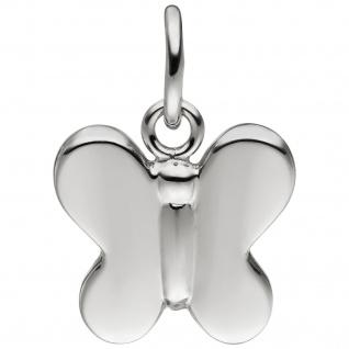 Kinder Anhänger Schmetterling 925 Sterling Silber Silberanhänger Kinderanhänger