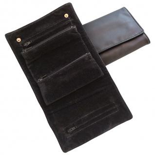 Sacher Schmucktasche schwarz Reiseetui für Schmuck