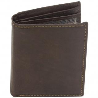 Friedrich Lederwaren Geldbörse Leder braun RFID Schutz viele Fächer - Vorschau 2