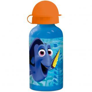 Findet Dorie Kinder Trinkflasche aus Aluminium blau orange 400 ml