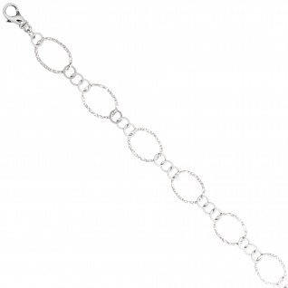 Halskette Kette 925 Sterling Silber 80 cm Silberkette Karabiner - Vorschau 2