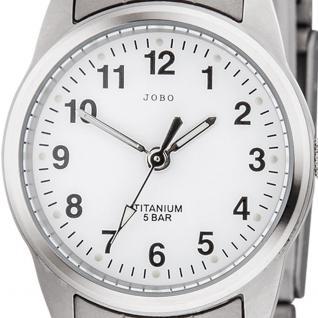 JOBO Damen Armbanduhr Quarz Analog Titan Damenuhr - Vorschau 2