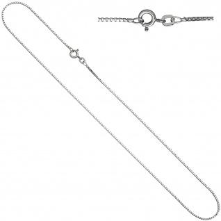 Venezianerkette 925 Sterling Silber 1, 2 mm 38 cm Halskette Kette Silberkette