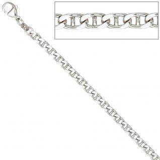 Armband 925 Sterling Silber rhodiniert 21 cm Silberarmband Karabiner - Vorschau 3