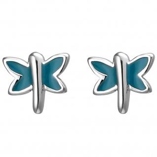 Kinder Ohrstecker Schmetterling 925 Sterling Silber Ohrringe
