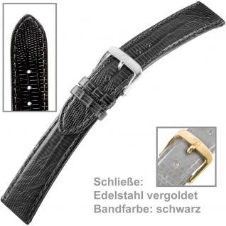 Uhrenarmband Men 18mm Edelstahl vergoldet