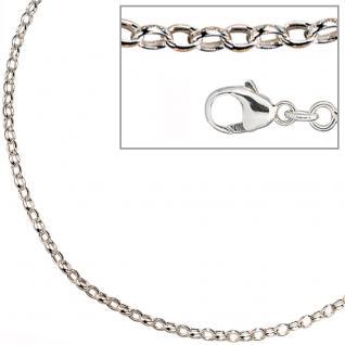 Ankerkette 925 Silber 3, 0 mm 70 cm Halskette Kette Silberkette Karabiner - Vorschau 2