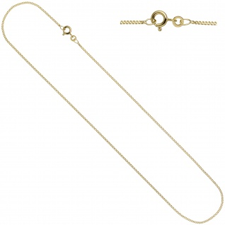 Schmuck-Set Kleeblatt 333 Gold Gelbgold 7 Zirkonia Ohrringe und Kette 45 cm - Vorschau 5