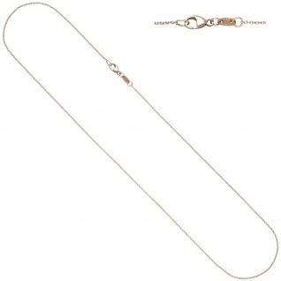Ankerkette rund 585 Gold Rotgold 1, 0 mm 45 cm Kette Halskette Rotgoldkette - Vorschau 1