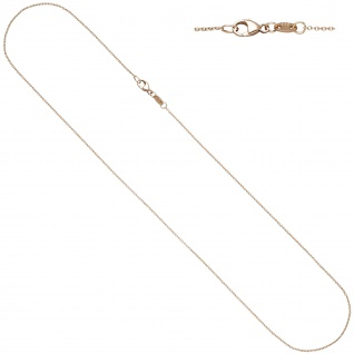 Ankerkette rund 585 Gold Rotgold 1, 0 mm 40 cm Kette Halskette Rotgoldkette