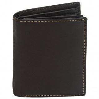 Friedrich Lederwaren Geldbörse Leder schwarz RFID Schutz - Vorschau 2