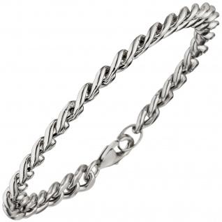 Panzerarmband Armband 925 Sterling Silber 19 cm Silberarmband Karabiner - Vorschau 1