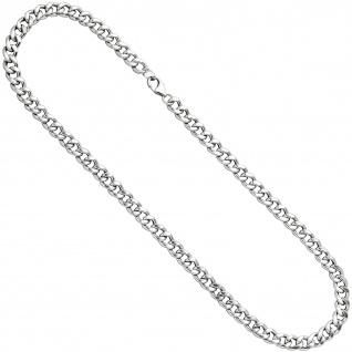 Panzerkette 925 Sterling Silber 7, 0 mm 45 cm Halskette Kette Silberkette
