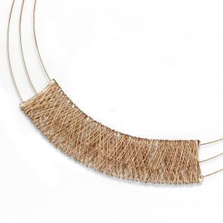 Collier Statement Halskette 585 Gold Gelbgold 42 cm Kette Goldkette