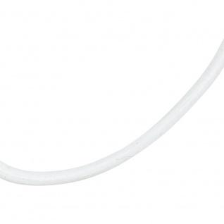 Leder Halskette Kette Schnur weiß 100 cm - Vorschau 2