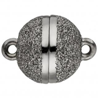 Kettenschließe Magnet-Schließe 925 Sterling Silber Kettenverschluss