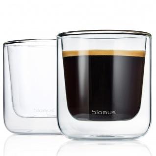 Blomus Thermo Gläser Kaffeegläser NERO 2-teiliges Set