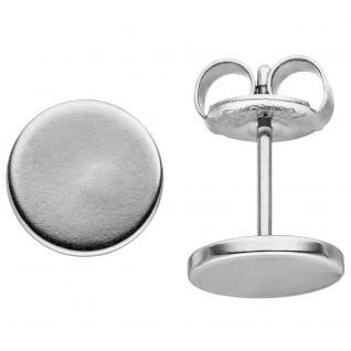 Ohrstecker Studs 8 mm aus Edelstahl Ohrringe