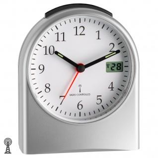 TFA Funk-Wecker digitale Sekundenanzeige Nachweckautomatik Beleuchtug - Vorschau