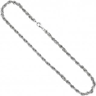 Kordelkette 925 Sterling Silber 50 cm Kette Halskette Silberkette Karabiner