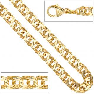 Garibaldikette 585 Gelbgold 5, 2 mm 45 cm Gold Kette Halskette Goldkette