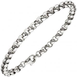 Erbsarmband 925 Sterling Silber 19 cm Armband Silberarmband
