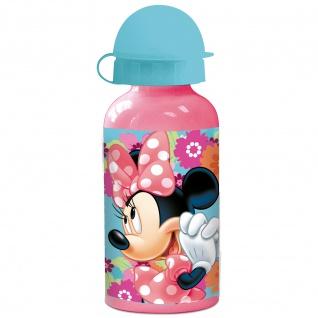 MINNIE MAUS Frühstücks-Set für Kinder Kindergeschirr Trinkflasche Brotdose - Vorschau 4