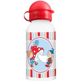STEINBECK ZWERGE Kinder Trinkflasche aus Aluminium 400 ml