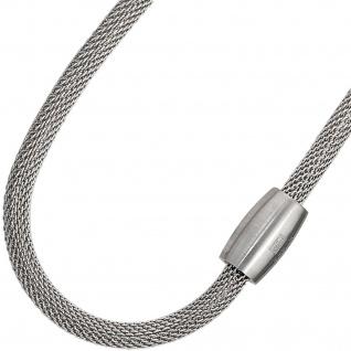 Strumpfarmband Edelstahl 19 cm Armband Edelstahlarmband mit Magnetverschluss - Vorschau 2