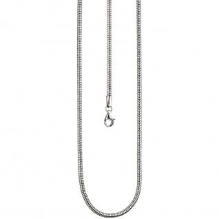Schlangenkette 925 Sterling Silber 2, 9 mm 50 cm Kette Halskette Silberkette - Vorschau 3