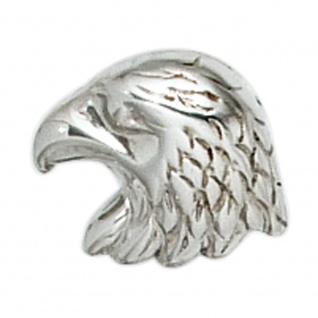 Einzel-Ohrstecker Adler 925 Sterling Silber rhodiniert