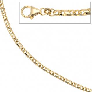 Halskette Kette 333 Gold Gelbgold massiv 55 cm Karabiner