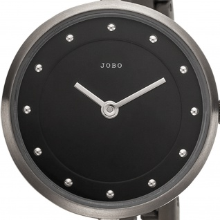 JOBO Damen Armbanduhr Quarz Analog Titan schmales Armband - Vorschau 2